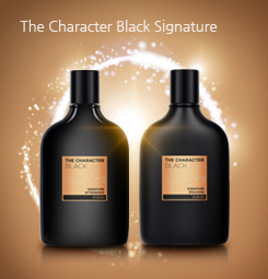 The charactor Black signiture